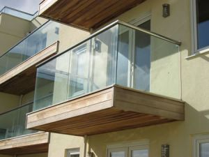 glass balconies